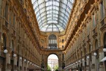 Milan, la Galleria Vittorio Emanuele