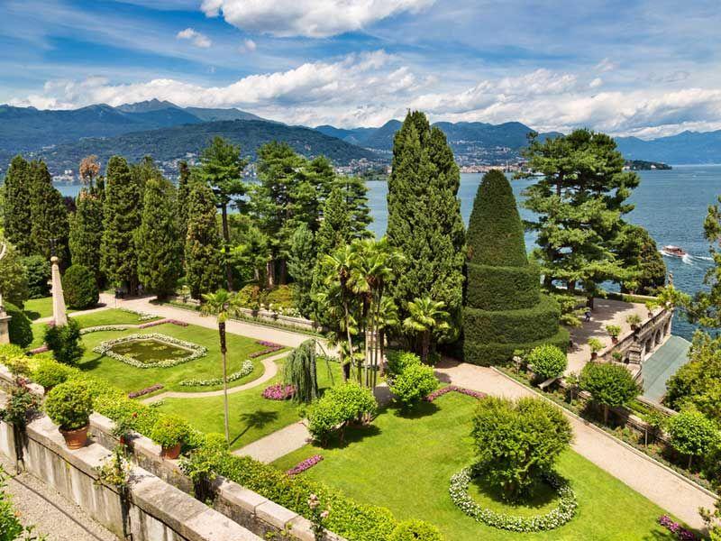 giardini dell\'isola bella, golfo borromeo, lago maggiore