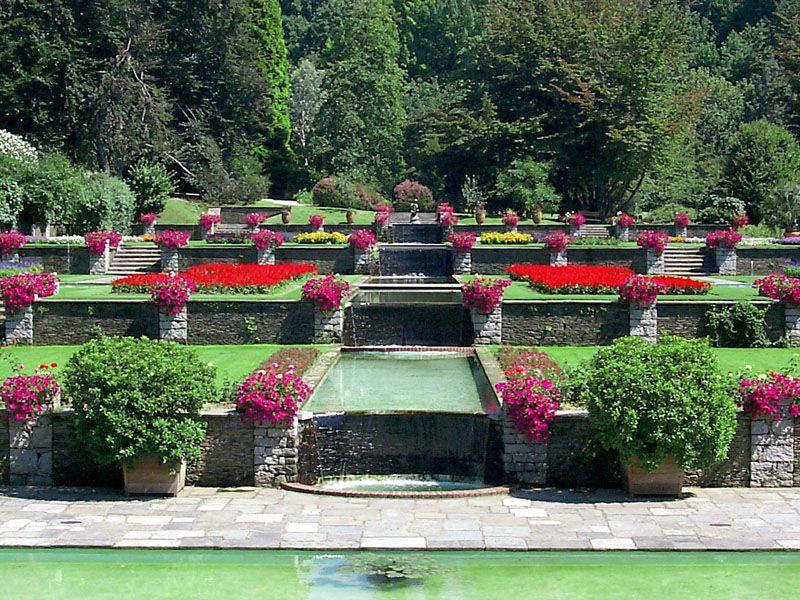 Giardino botanico di villa taranto verbania lago maggiore - Giardini terrazzati immagini ...